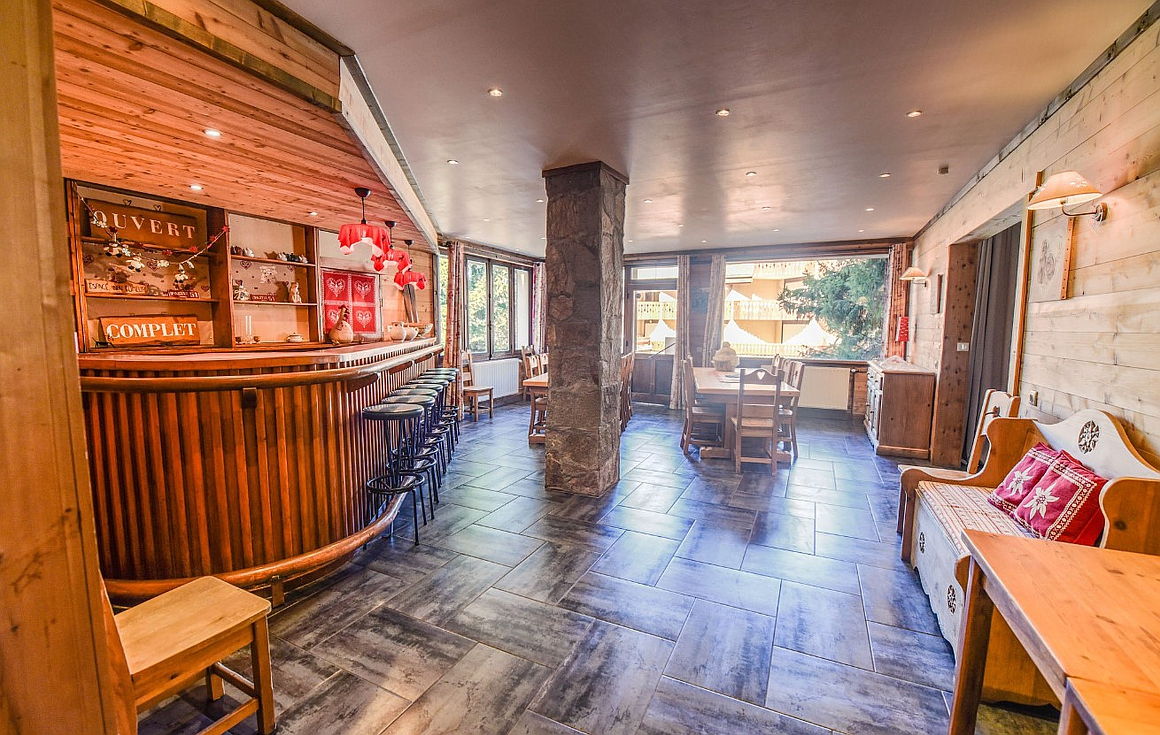 The Bar and dining area