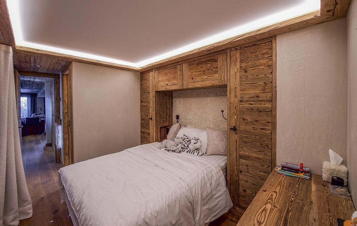 Bedroom examples of finish