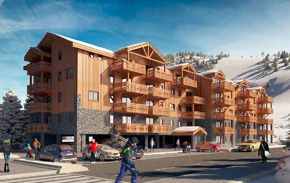 The apartments for sale in Les Deux Alpes