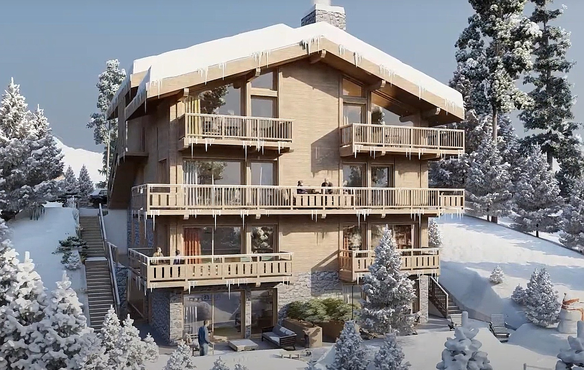 Courchevel apartments for sale