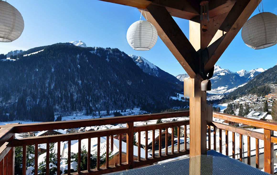 The Chatel chalet for sale