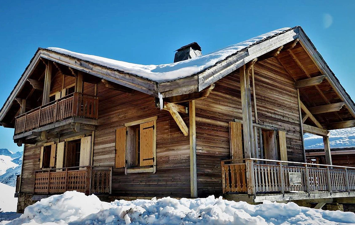 The chalet for sale in Alpe d'Huez