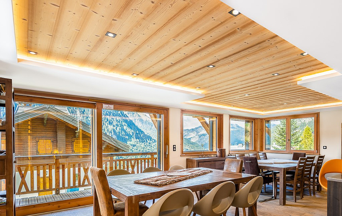 The living floor of the chalet