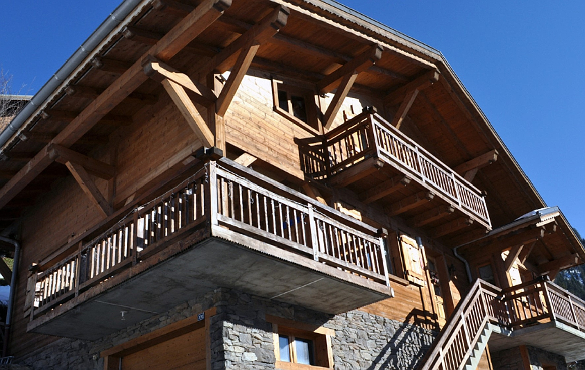 The chalet for sale in Chatel