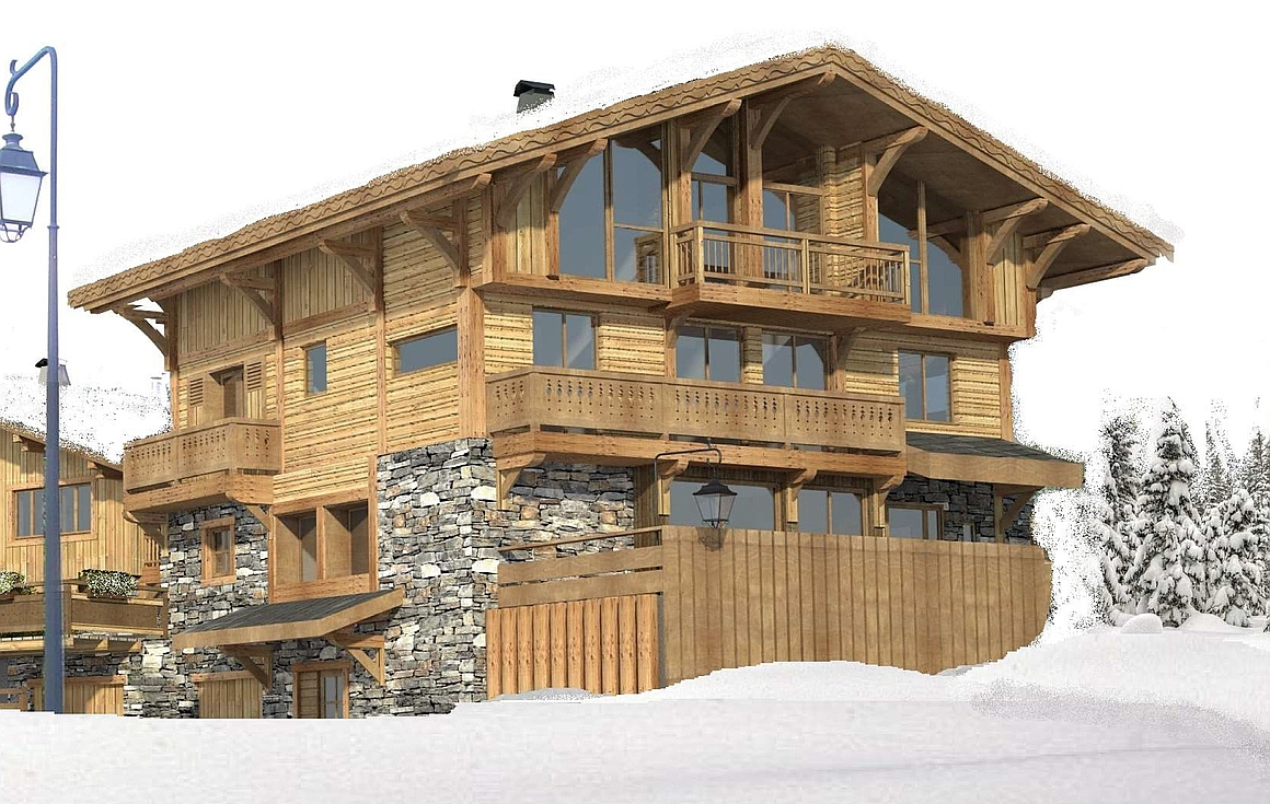The outstanding chalet
