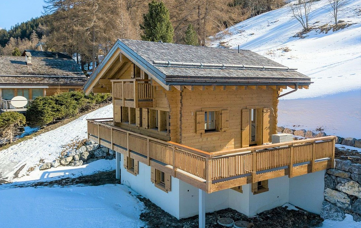 The ski in and out chalet for sale in Nendaz