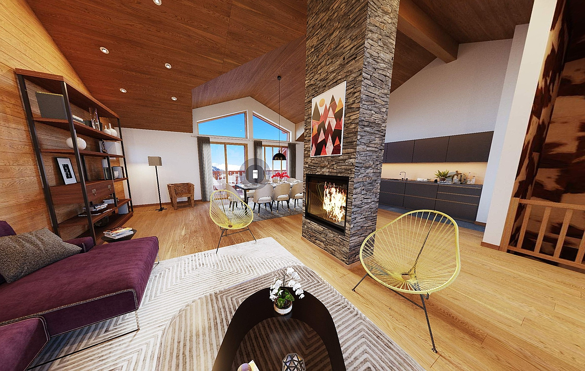 The Courchevel chalet for sale