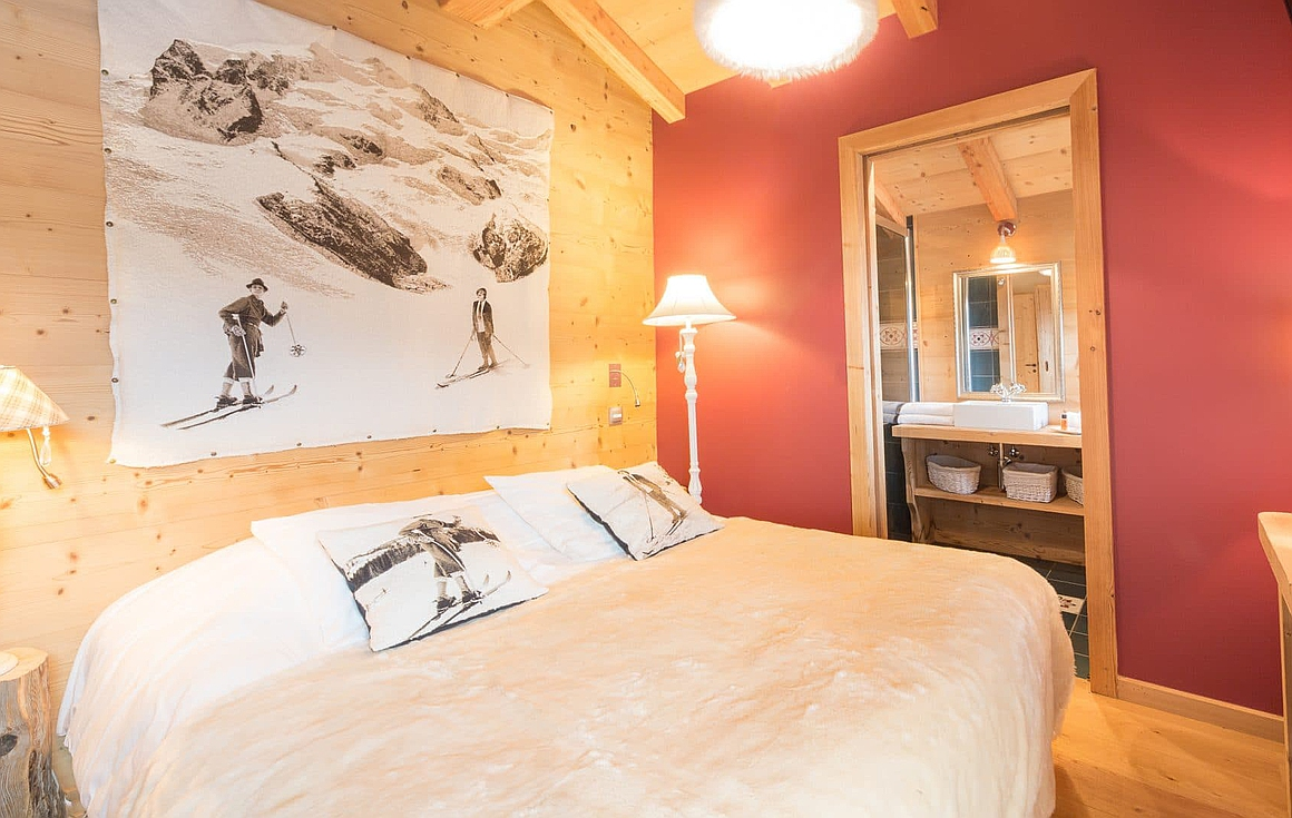 Stunning interiors of the chalet