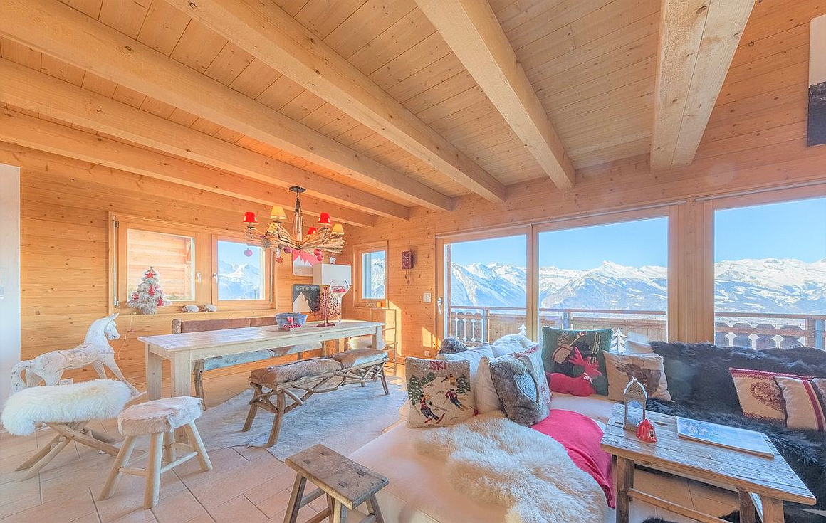 Wonderful chalet for sale in Nendaz