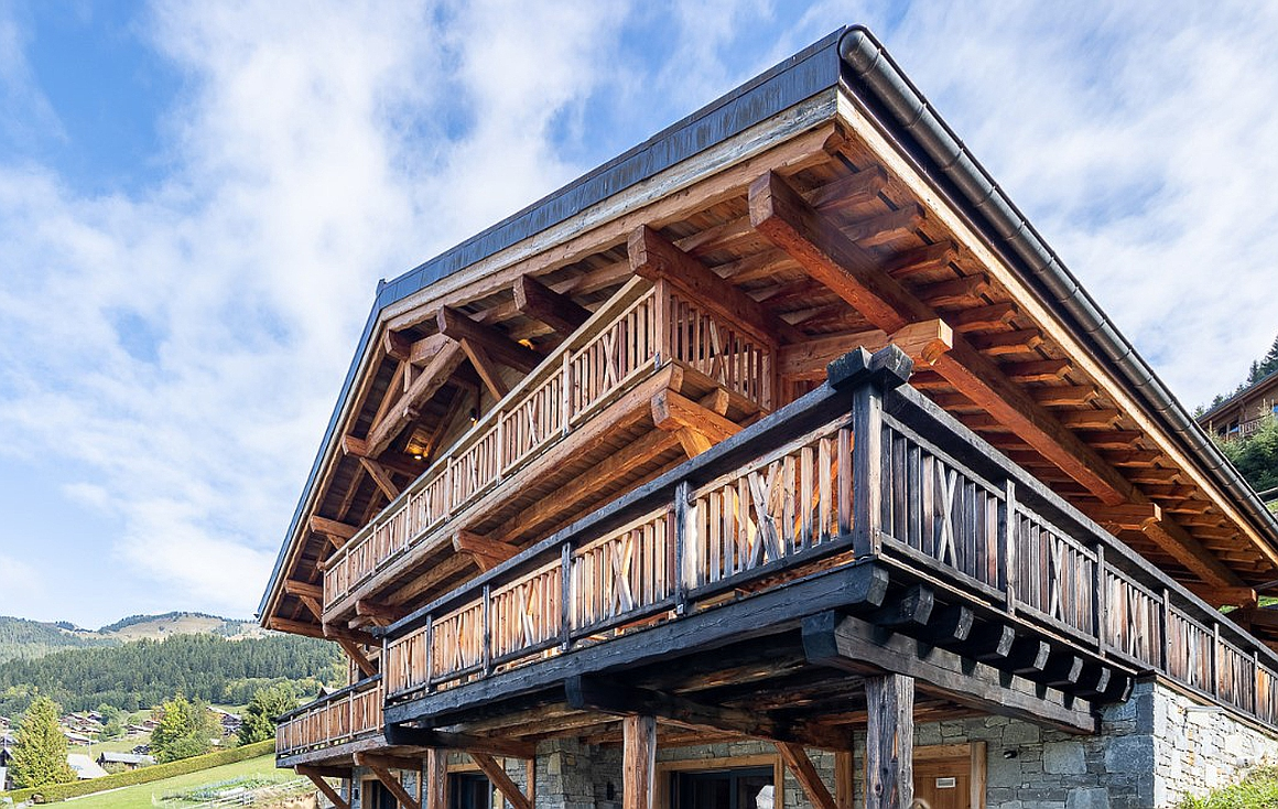 Exterior of the chalet for sale in Chatel