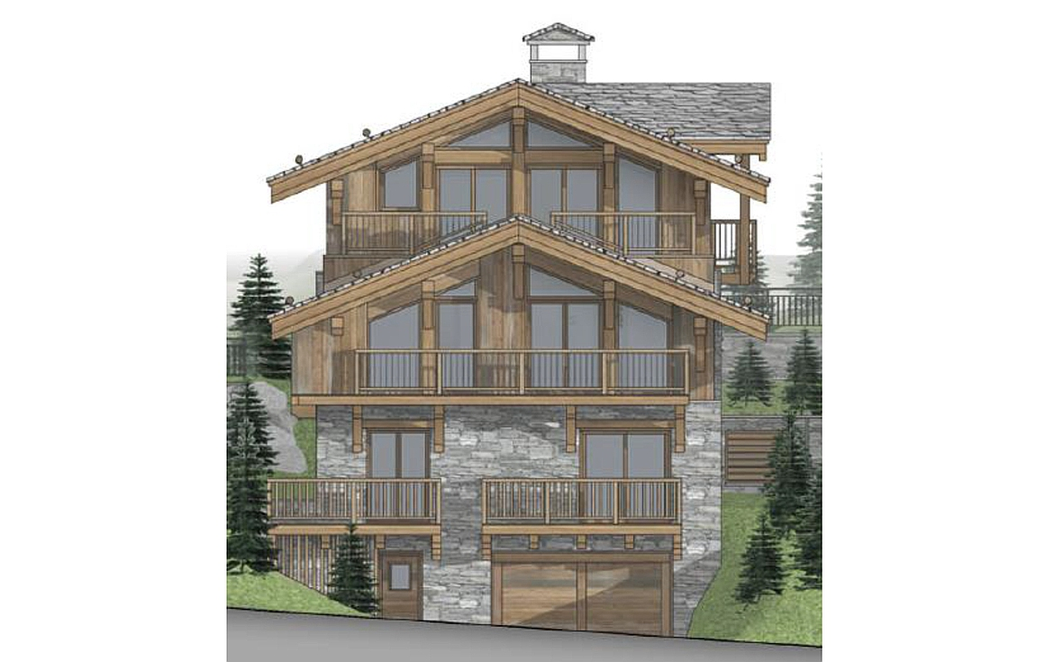 The amazing off plan chalet