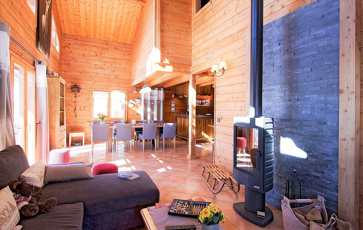 The amazing Les Deux alpes property