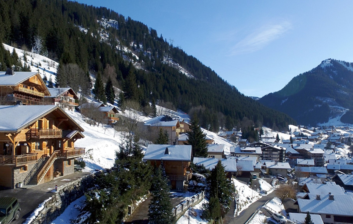 The views from the chalet