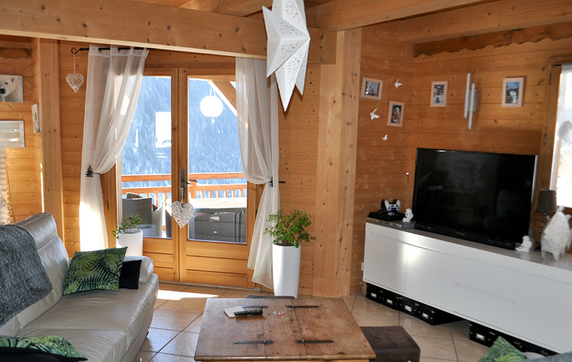 The chalet for sale in Chatel at 1.2 million
