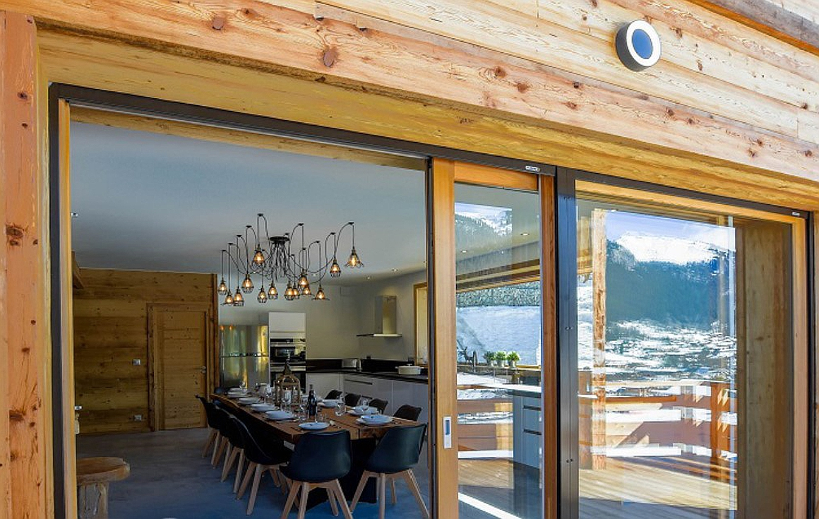 Fantastic finishes by developer of chalets for sale in Chatel