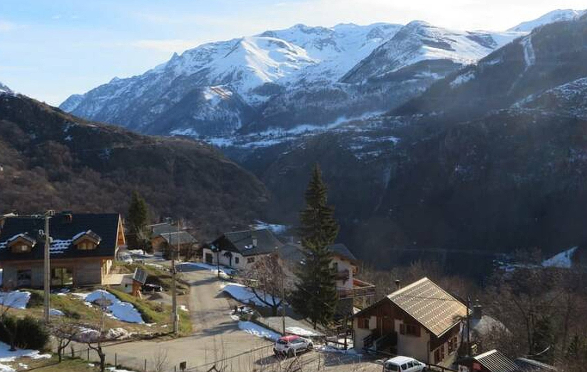 Stunning views from the chalet