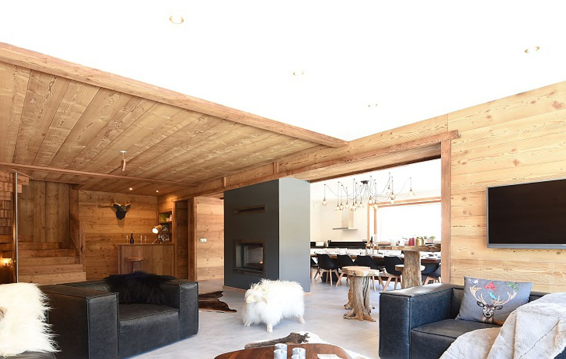 Chalets completed in Chatel by developer