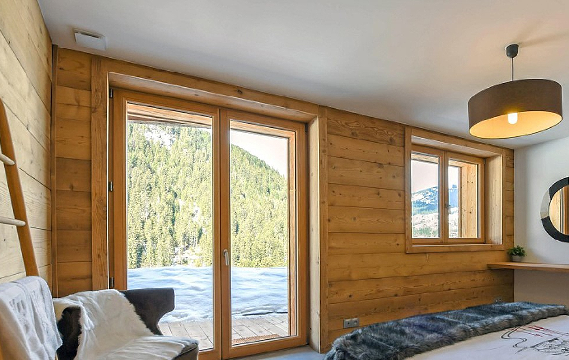 example finished bedrooms in phase 1 chalets