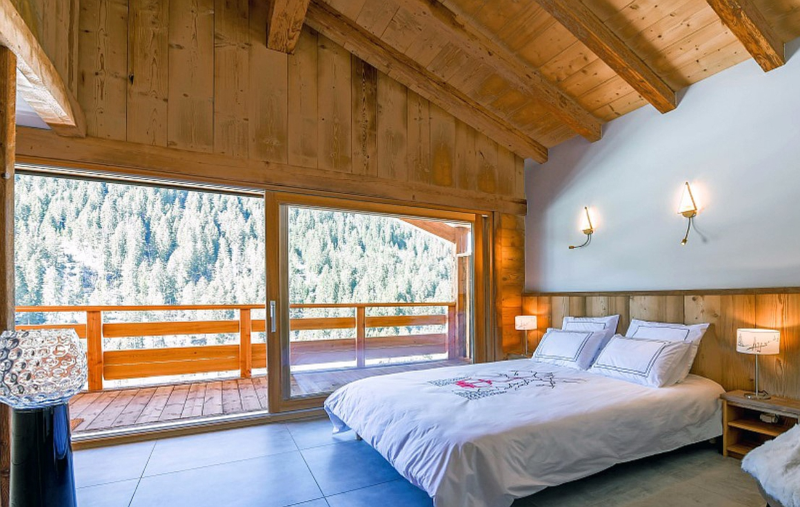 Bedrooms in Chatel phase 1