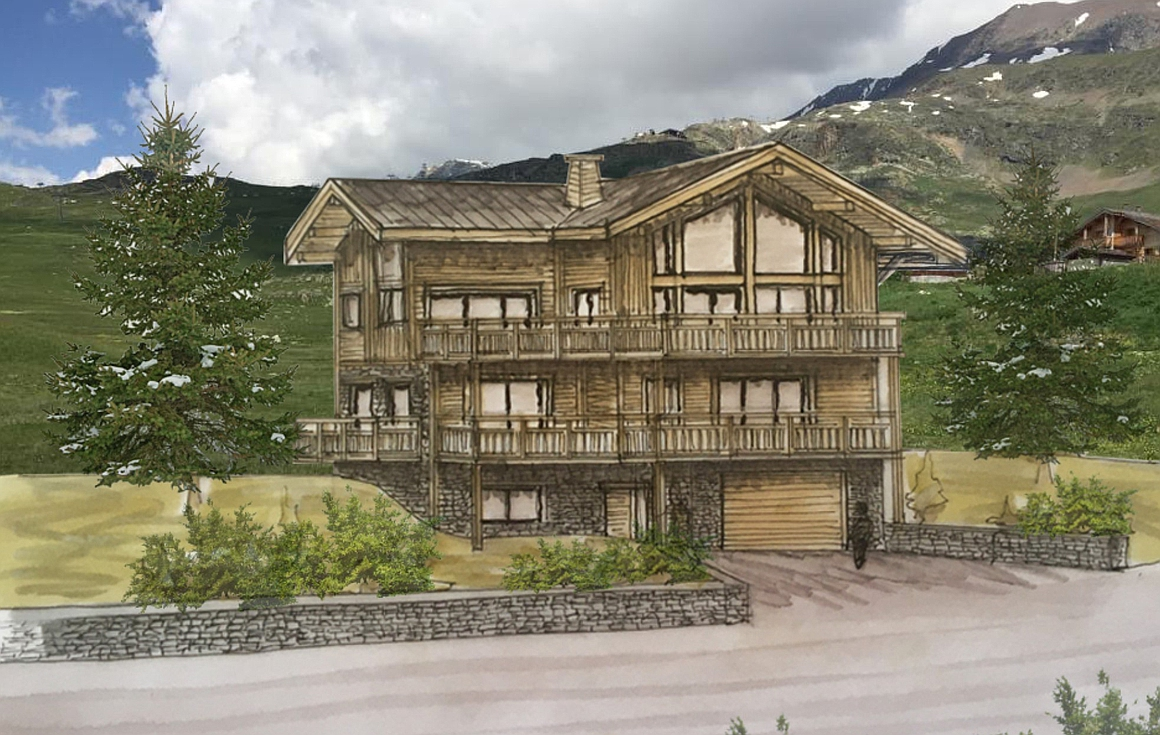 The outstanding chalet for sale in Alpe d'Huez