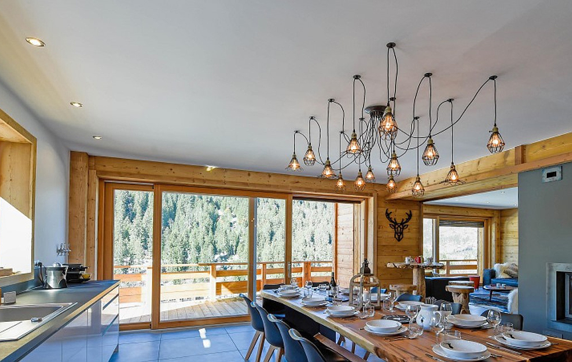 Chatel chalets completed in phase 1