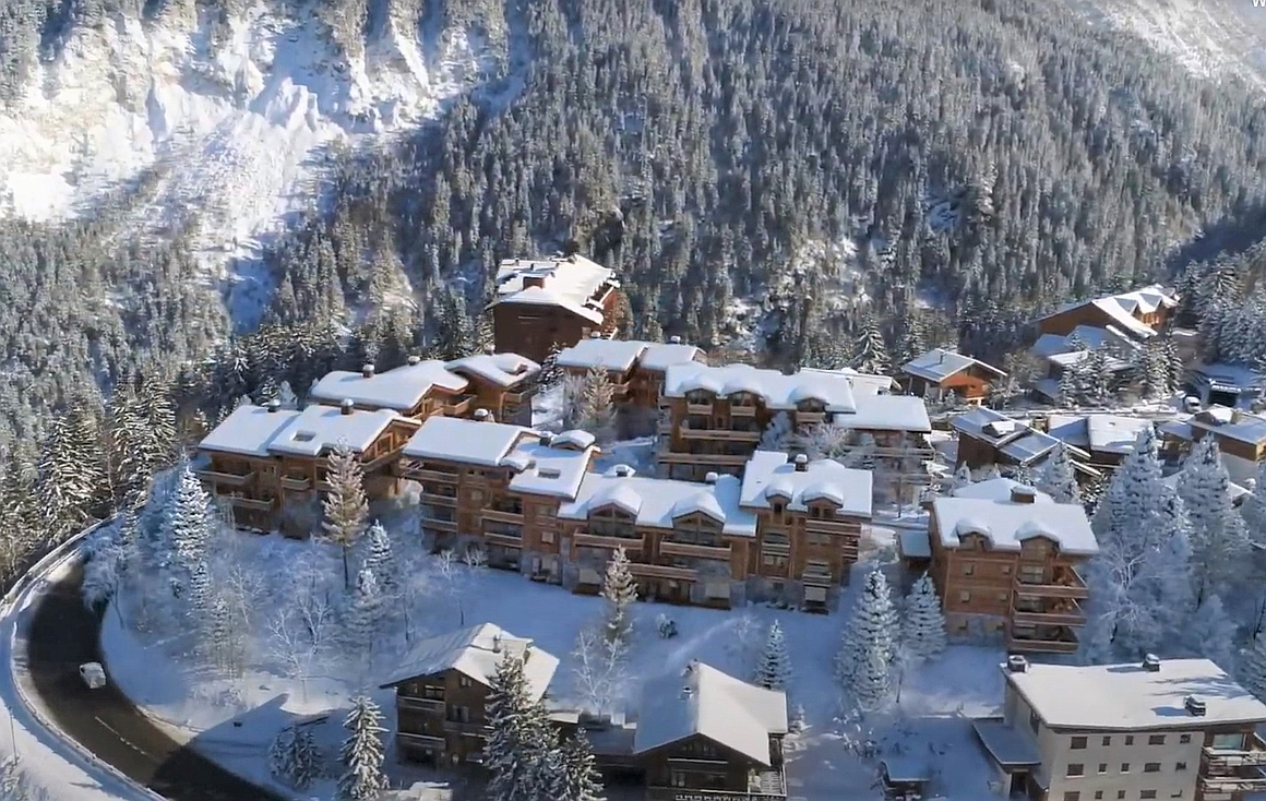 The brand new apartments for sale in Courchevel
