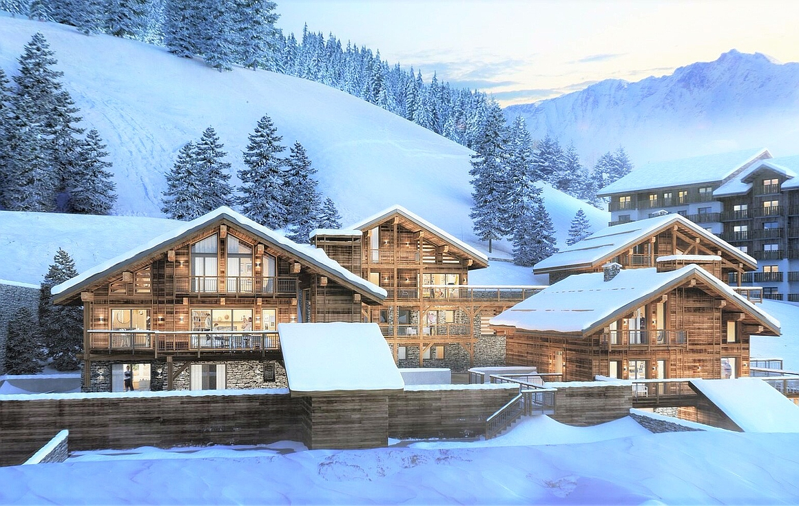 Peisey Vallandry chalet for sale