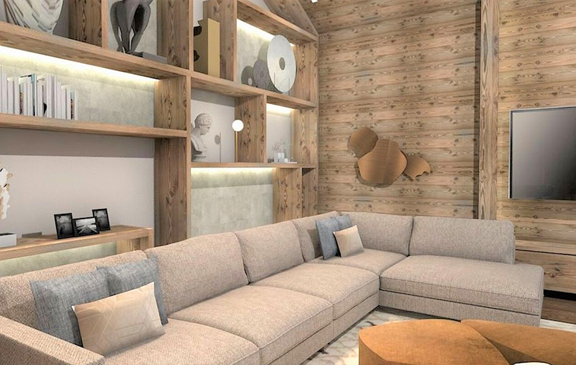 Chalet living areas