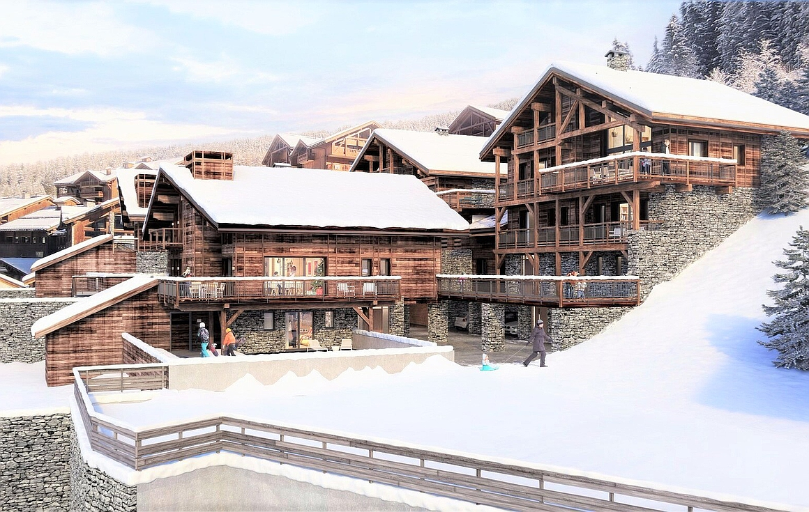 The Peisey Vallandry chalets for sale