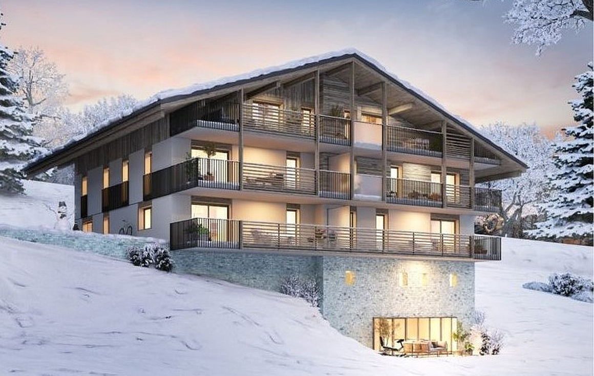 Brand new apartments for sale in Combloux