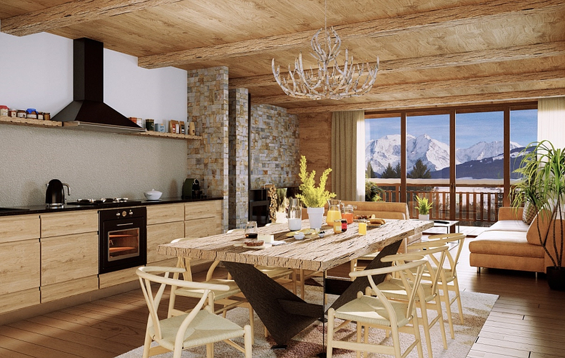 Example Kitchen Dining Room