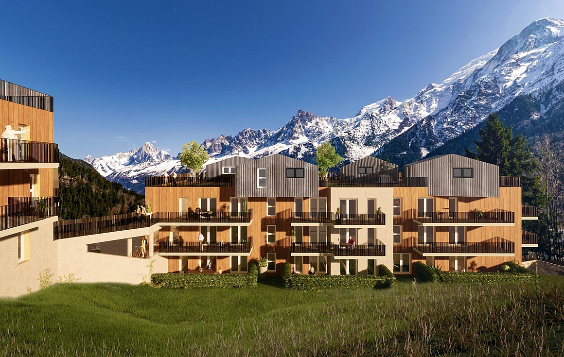 The Les Houches apartments for sale