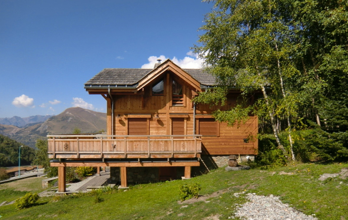 The stunning chalet for sale