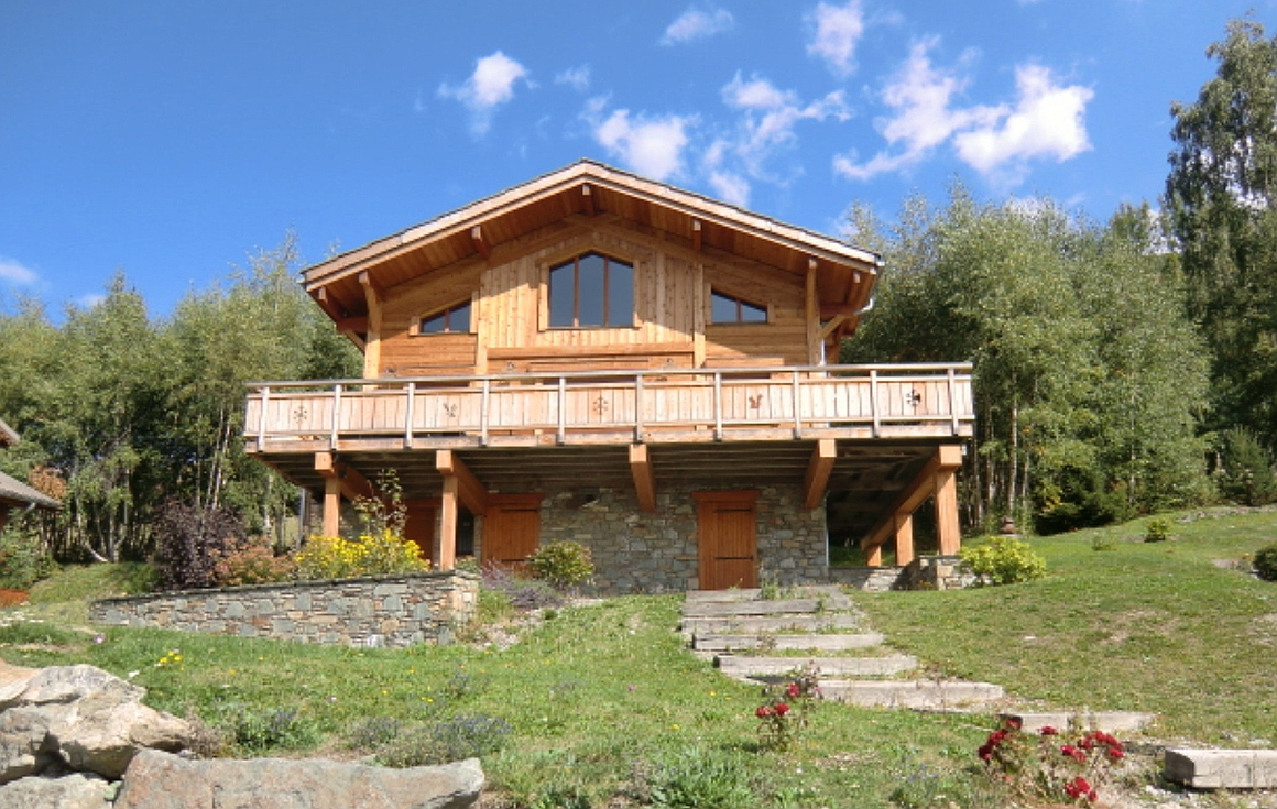 The chalet for sale in Les Deux Alpes