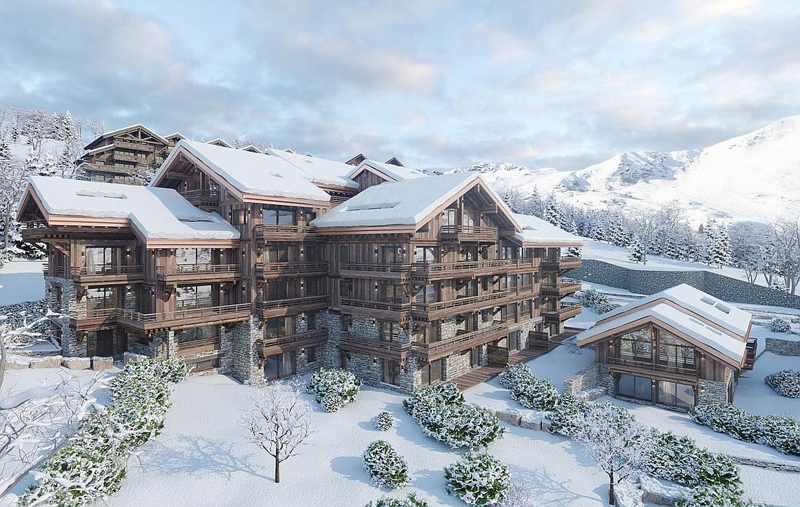 3D visual apartments in Meribel