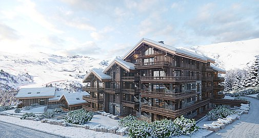 New residence of apartments in Meribel
