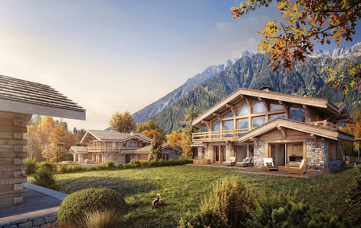 Exterior of Chalet for sale in Chamonix