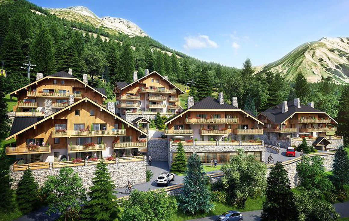Brand new apartments to be built in Vaujany