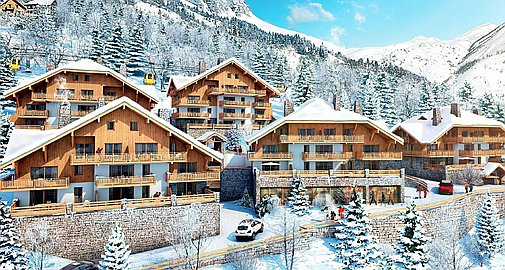 Brand new apartments for sale in Vaujany