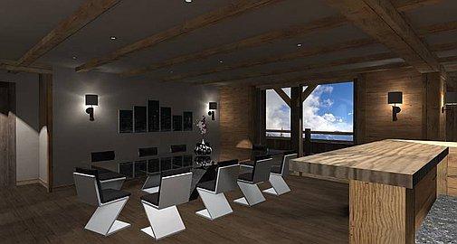 Interior design of the apartment
