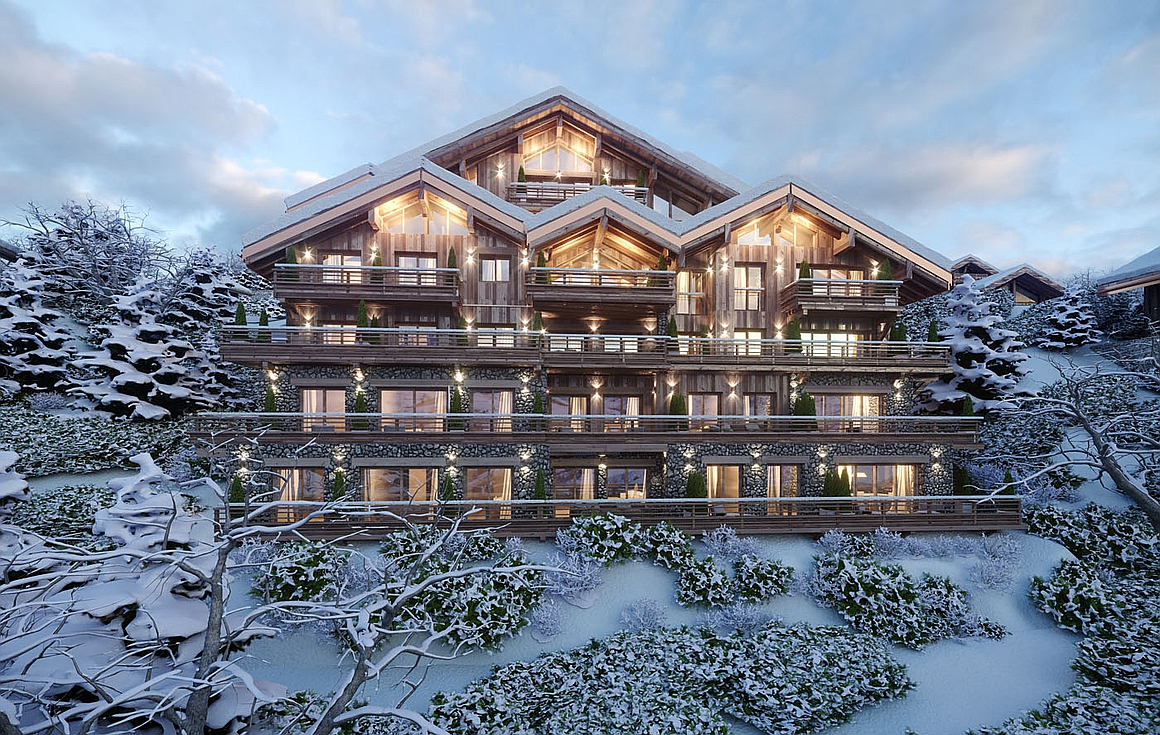 Ski apartments for sale in Meribel