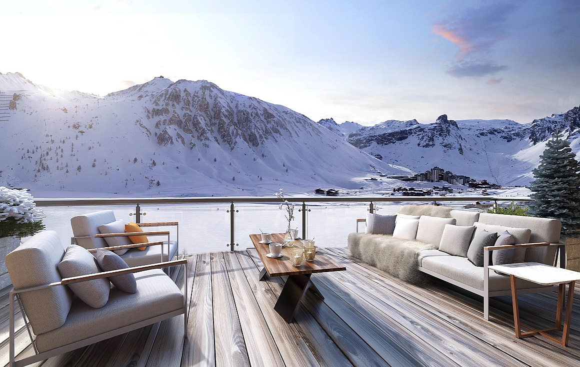 Outstanding apartments for sale in Tignes