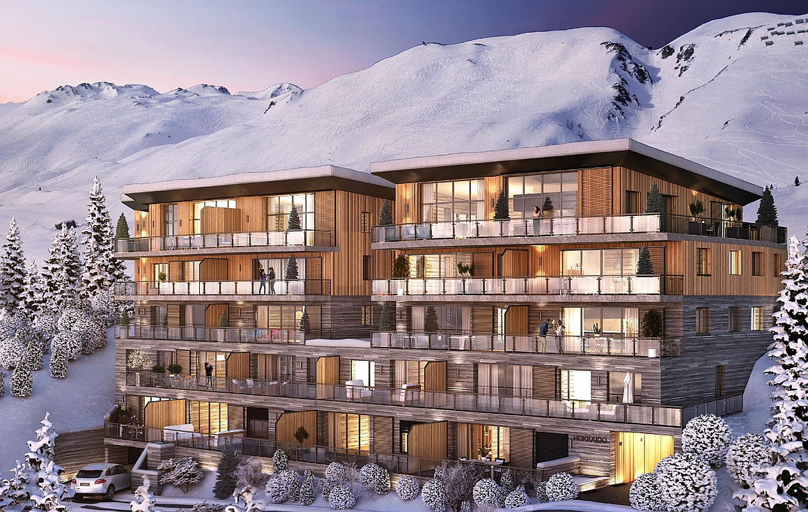 Stunning Tignes apartments for sale