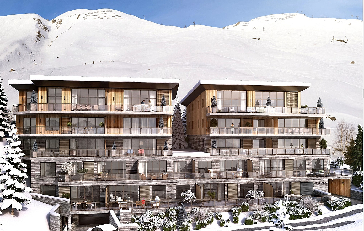 Amazing apartments for sale in Tignes