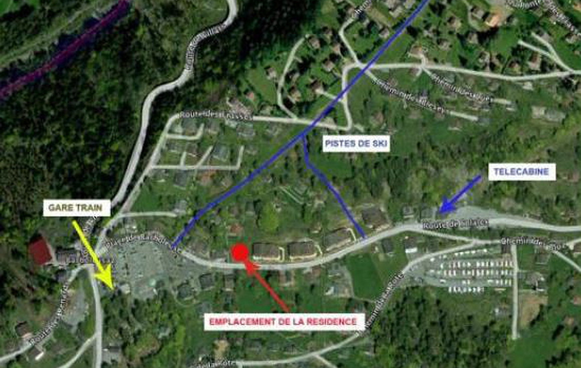 Easy proximity to piste, lift and train station