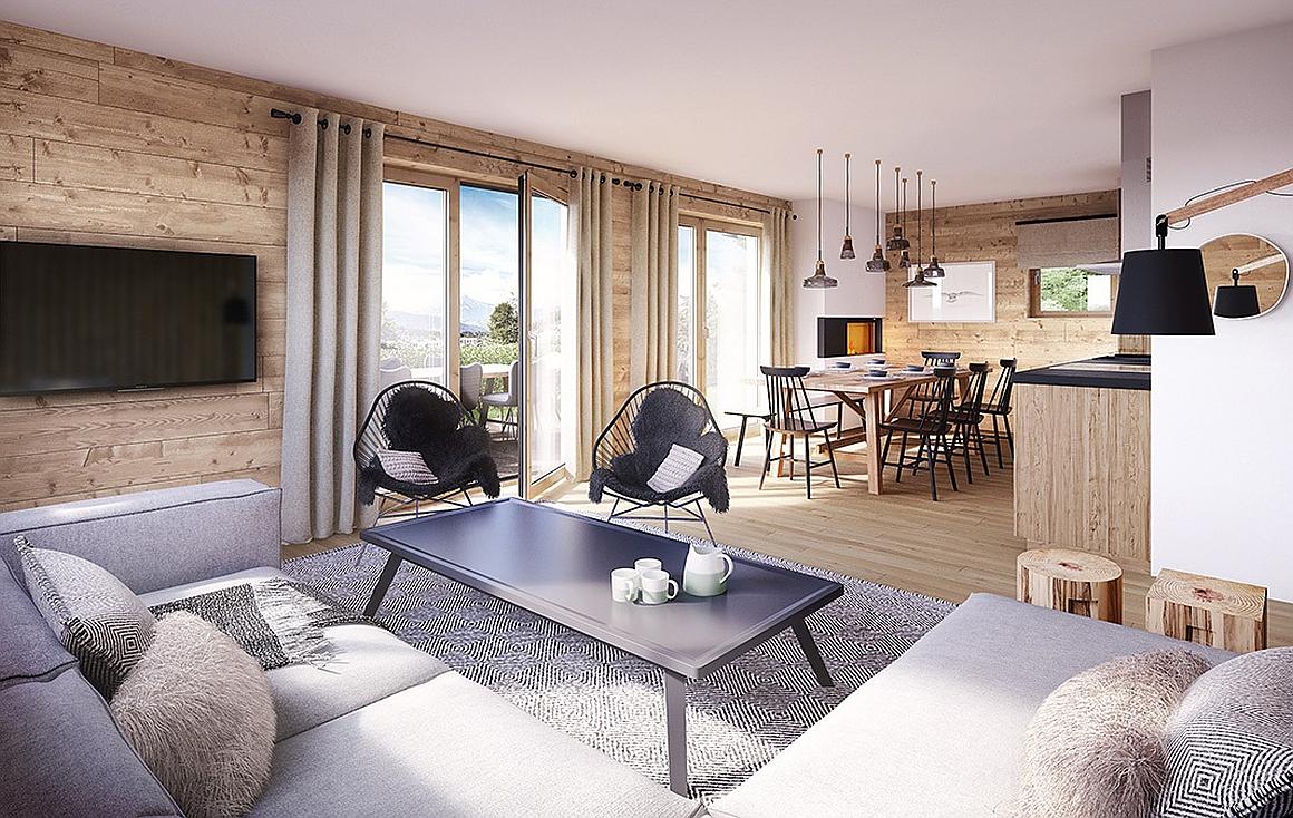 Lounge - Montagnard finish