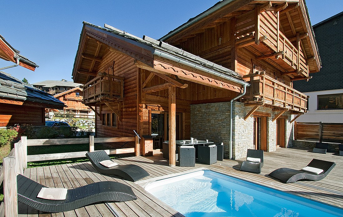 The chalet for sale Les 2 Alpes
