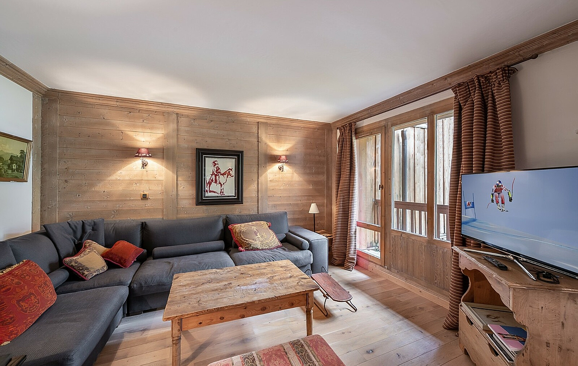 Living room of the Apartment for sale in Val d'Isere