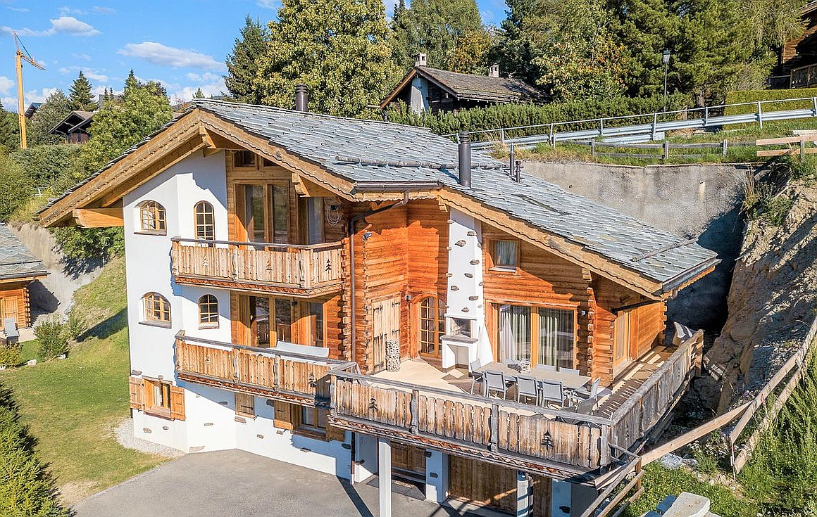 The Swiss chalet for sale