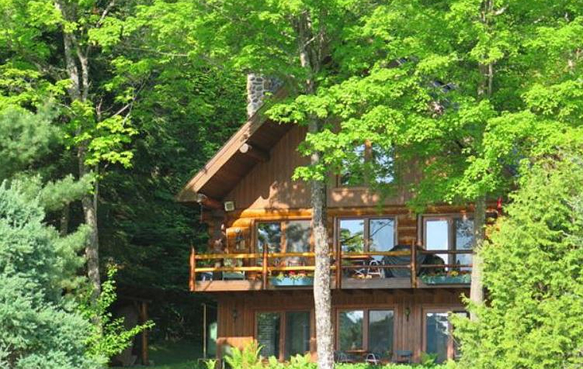Exterior of property for sale in Mont Tremblant